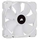 Corsair SP Series, White SP120 RGB ELITE, 120mm RGB LED Fan with AirGuide, Triple Pack with Lighting