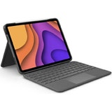 Logitech Folio Touch for iPad Air (4th generation) - OXFORD GREY - UK - INTNL