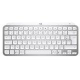 Logitech MX Keys Mini Minimalist Wireless Illuminated Keyboard - PALE GREY - FRA - CENTRAL