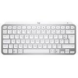 Logitech MX Keys Mini For Mac Minimalist Wireless Illuminated Keyboard - PALE GREY - FRA - CENTRAL