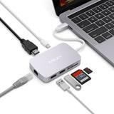 Minix NEO-C-GGR USB-C Multiport Adapter Grey